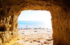 Port Willunga Cave Stock Images