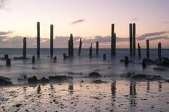 Port Willunga, Fleurieu Peninsula, South Australia: Sunset Stock Images