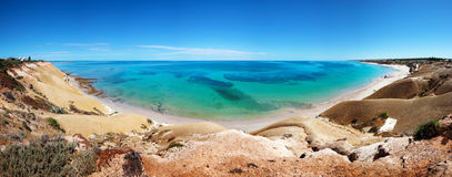 Port Willunga Panorama Stock Photography