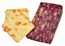 Port Wine Infused Derby Cheese Royalty Free Stock Image