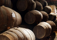 Port wine from the vineyards Douro Valley in Portugal Stock Photos