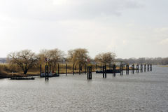 Port Wittenberge arkivbilder
