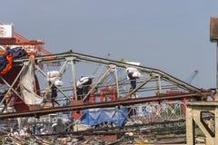 Port in Yangun Stock Photos