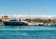Port of Zadar city Royalty Free Stock Images