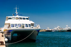 Port of Zadar city Royalty Free Stock Photos