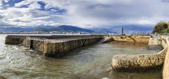 Port Zaharra Pano Zdjęcia Royalty Free