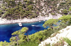 Port in Zakynthos Royalty Free Stock Photo