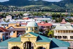 Port Zante on St Kitts Stock Images