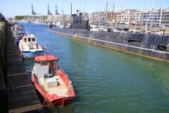 Port of zeebrugge Stock Photos