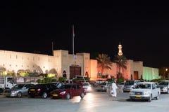 Porta à cidade velha de Nizwa, Omã Foto de Stock