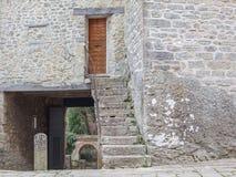 A porta à fortaleza fotografia de stock royalty free