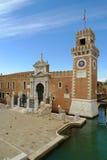 porta больших винных бутылок арсенала venetian Стоковое Изображение RF