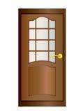 Porta. ilustração royalty free