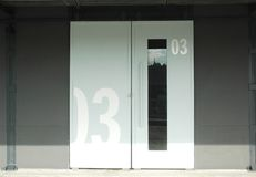 Porta 3 Foto de Stock