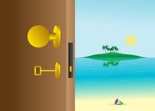 Porta. illustrazione vettoriale