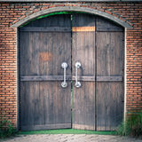 Porta Fotografia de Stock
