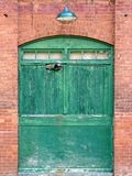 Porta abandonada do moinho Foto de Stock Royalty Free