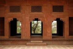 Porta abbandonata del tempiale in Fatehpur Sikri, India Fotografie Stock