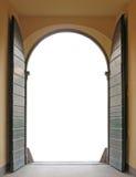 Porta aberta Fotografia de Stock