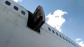 Porta aberta aviões Foto de Stock Royalty Free