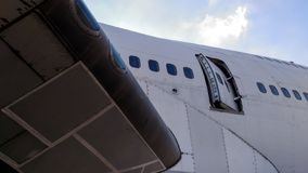 Porta aberta aviões Foto de Stock