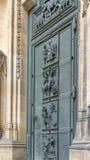 Porta ad ovest della cattedrale della st Vitus Fotografia Stock
