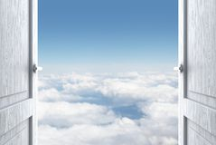 Porta al cielo Fotografie Stock
