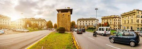Porta alla Croce in Florence, Tuscany, Italy Stock Photo