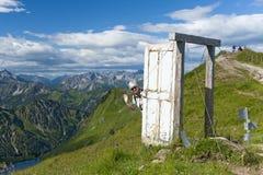 Porta Alpinae Stock Image