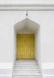 Porta amarela Fotos de Stock Royalty Free