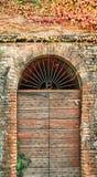Porta antica Fotografie Stock