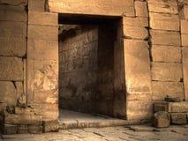 Porta antica Immagini Stock