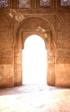 Porta antica dell'arco Immagine Stock Libera da Diritti