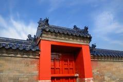 Porta antiga chinesa imagens de stock royalty free