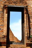 Porta antiga do templo Imagens de Stock Royalty Free