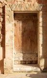 Porta antiga - macia, cores pastel fotografia de stock royalty free