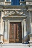 Porta antiga no palácio de Alhambra em Spain Fotografia de Stock