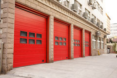 Porta antincendio Immagine Stock