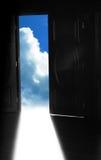 Porta ao céu Imagens de Stock