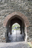 Porta ao castelo Foto de Stock Royalty Free