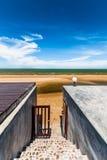 Porta ao mar Imagem de Stock
