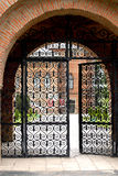 Porta ao palácio de Mogosoaia Imagens de Stock