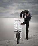 A porta ao sucesso Fotografia de Stock