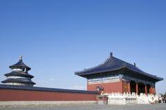 Porta ao templo de céu Imagens de Stock