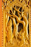 A porta ao templo em Tailândia fotos de stock royalty free