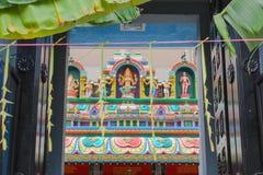 A porta ao templo indiano Fotografia de Stock