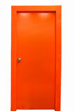 Porta arancio Fotografia Stock