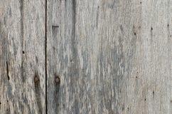 Porta arrugginita molto vecchia del legno duro per uso del fondo Immagine Stock Libera da Diritti