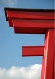 Porta asiática Imagem de Stock