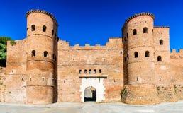Porta Asinaria in Rome, Italy Stock Image